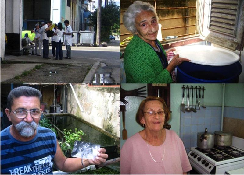 Campaña estudiantil contra el dengue en Cuba, 2012.